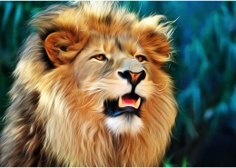 Painted-Lion
